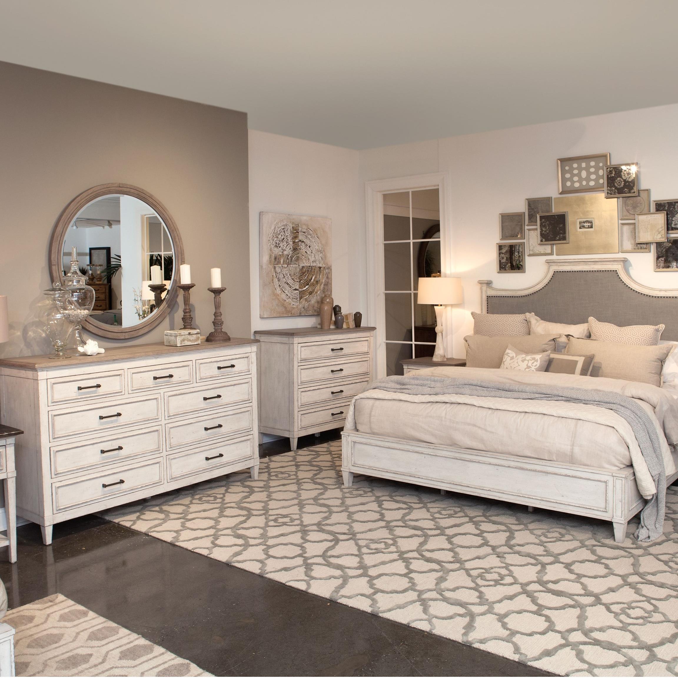 Bassett Room Planner: Bassett Bella Cottage 9 Drawer Dresser With Weathered