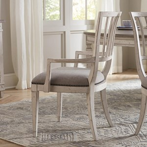 Bassett Bella Dining Arm Chair