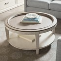 Bassett Bella Round Cocktail Table - Item Number: 6572-0605