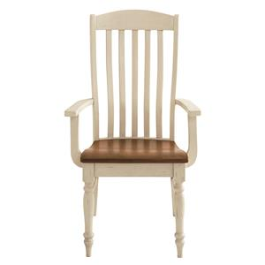 Bassett Bench Made Henry Arm Chair