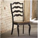 Bassett Bench Made Greyson Side Chair with Elegant Styled Back