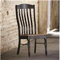 Bassett Bench Made Henry Side Chair with Classic Slat Back