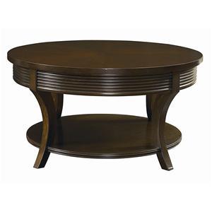 Bassett Berkeley  Round Cocktail Table