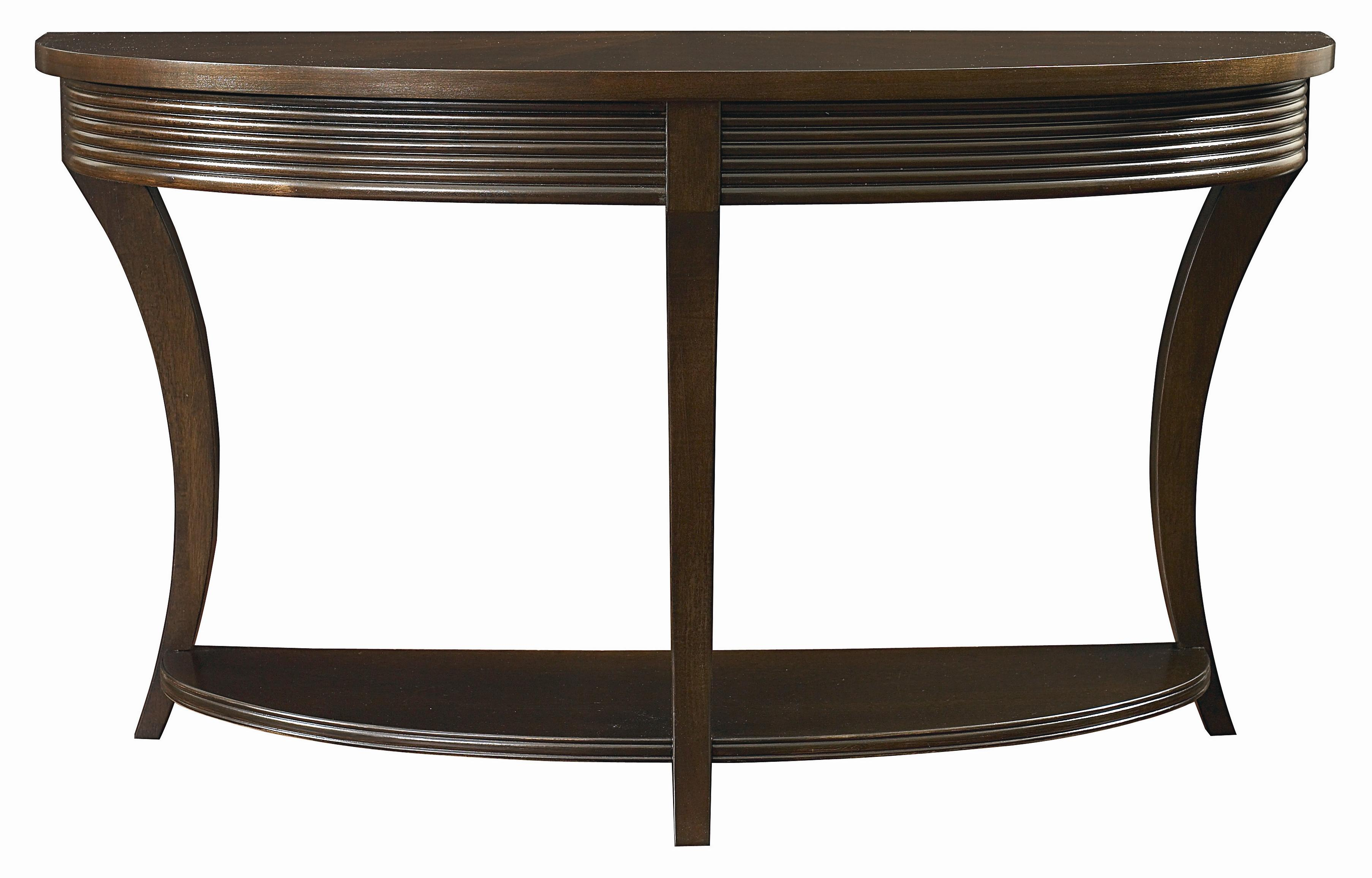 Bassett Berkeley Demilune Console Table AHFA Console Sofa