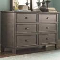 Bassett Brentwood Dresser - Item Number: 2794-0237