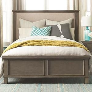 Bassett Brentwood Queen Upholstered Bed