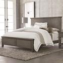 Bassett Brentwood King Panel Bed - Item Number: 2794-K166