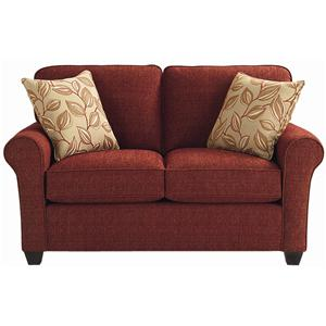 Bassett Brewster Upholstered Loveseat