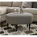 Bassett Cameron Rory Cocktail Ottoman - Item Number: 1516-32R 1408-9 N-1 BF807