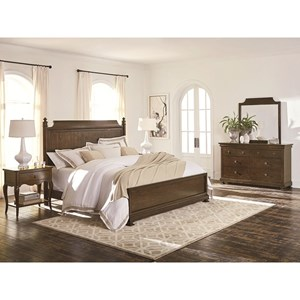 Bassett Chateau King Bedroom Group
