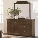 Bassett Chateau Dresser and Mirror Set - Item Number: 2690-0237+0231