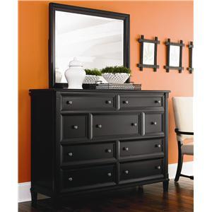 Bassett Chatham Dresser & Mirror Combo