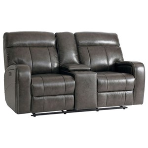 Bassett Club Level - Beaumont Power Reclining Loveseat