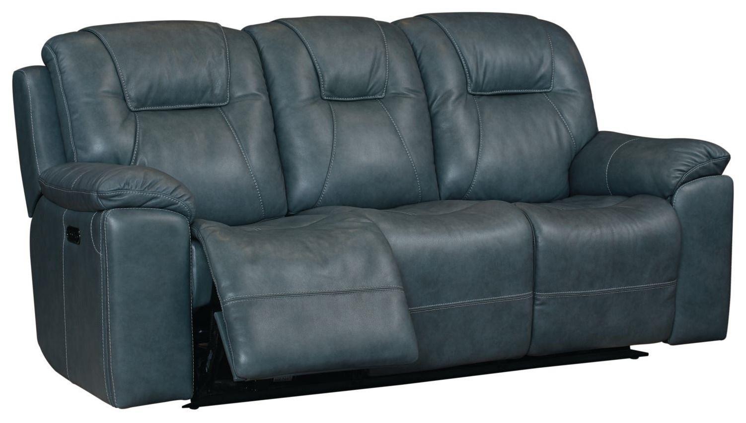 Picture of: Bassett Club Level Chandler 3739 P62b Power Reclining 3 Seat Sofa Esprit Decor Home Furnishings Reclining Sofas