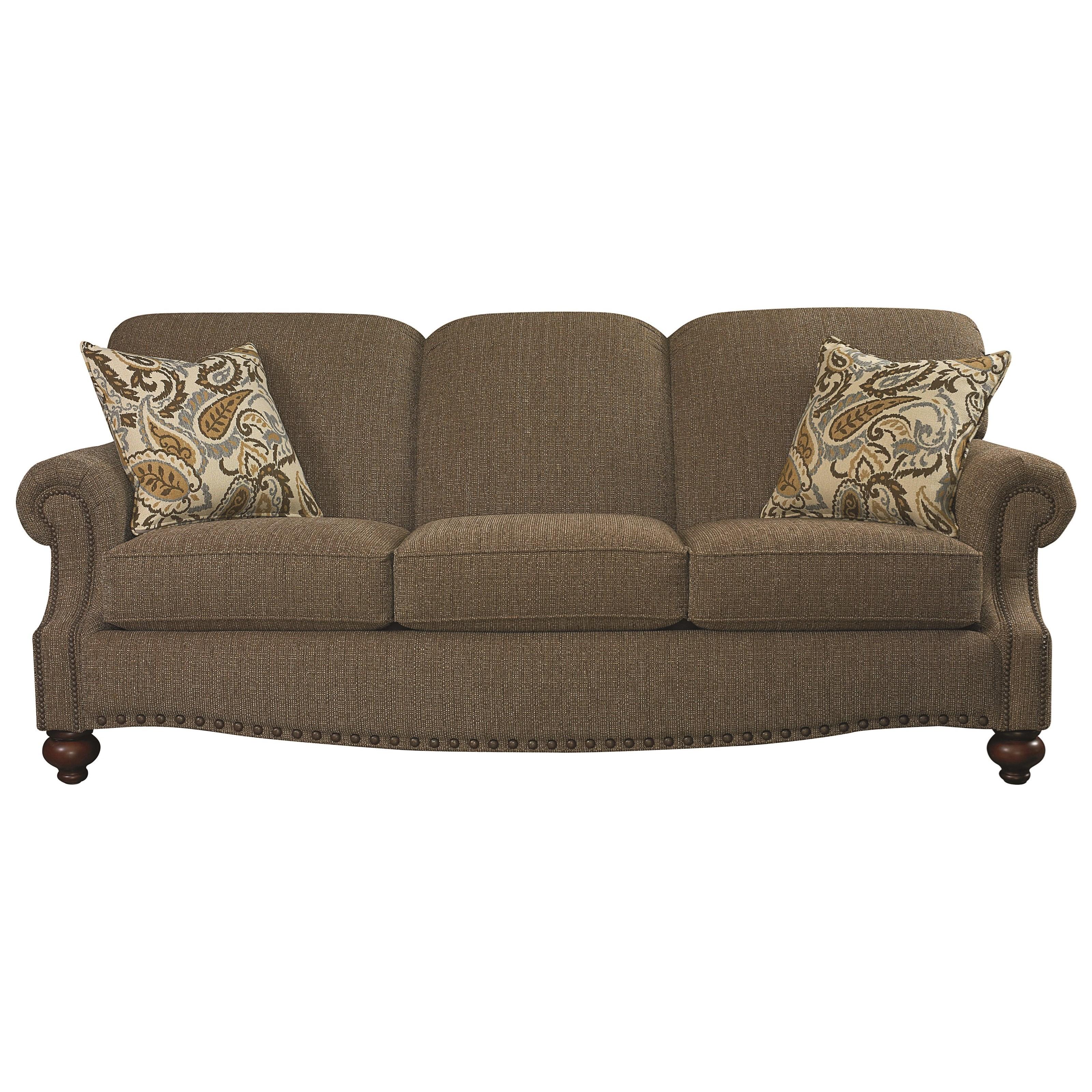 - Bassett Xpress 2 U Clubroom 3991-62FC Sofa Miller Home Sofa