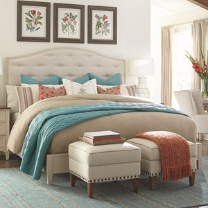 Complete Queen Upholstered Bed