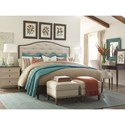 Bassett Commonwealth Complete California King Upholstered Bed - Bed Shown May Not Represent Size Indicated