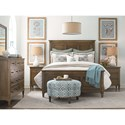 Bassett Commonwealth Complete Queen Panel Bed - Bed Shown May Not Represent Size Indicated