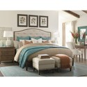 Bassett Commonwealth Complete Queen Upholstered Bed - Bed Shown May Not Represent Size Indicated