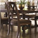 Bassett Compass Dining Side Chair - Item Number: 4525-2455