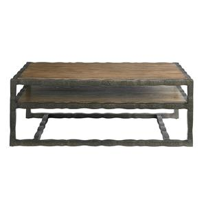 Bassett Compass Rectangular Cocktail Table