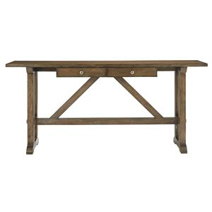 Bassett Compass Console Table