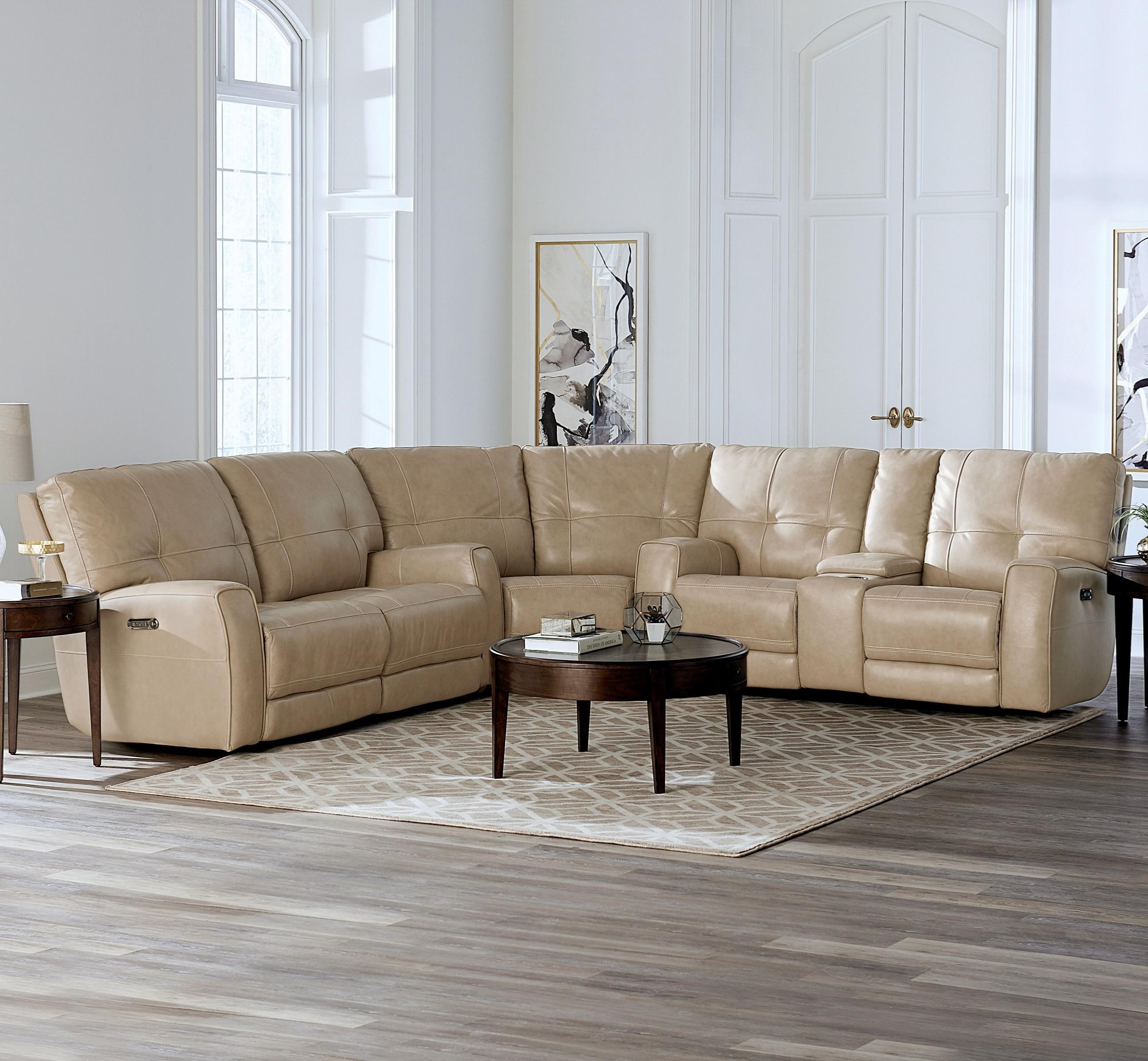 Reclining Curved Corner Sectional