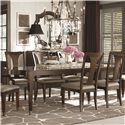 Bassett Cosmopolitan Rectangular Dining Table - Item Number: 4767-4278
