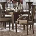 Bassett Cosmopolitan Round Dining Table - Item Number: 4767-4848