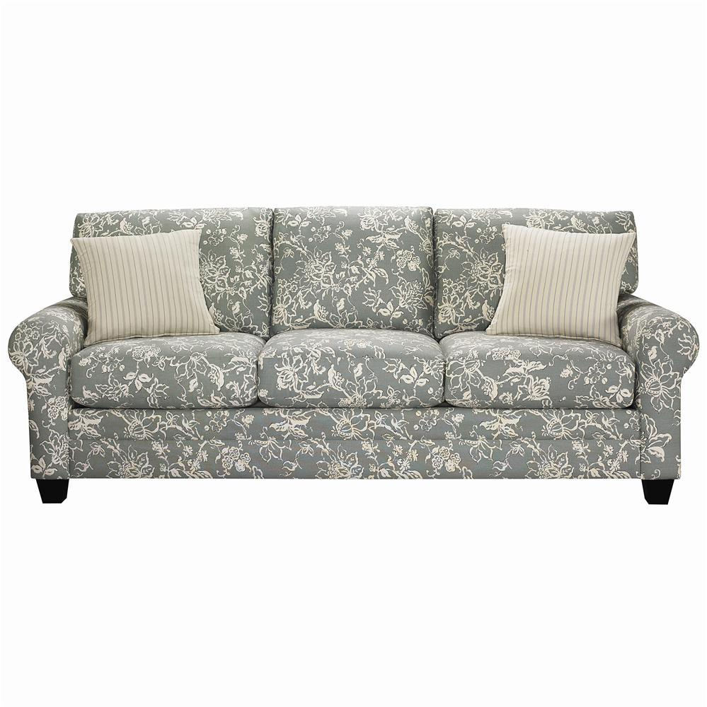 Bassett cu 2 3850 72u upholstered stationary sofa hudson 39 s furniture sofa Upholstered sofas and loveseats