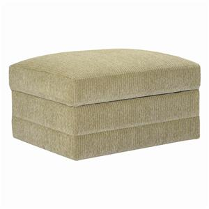 Upholstered Stationary Ottoman