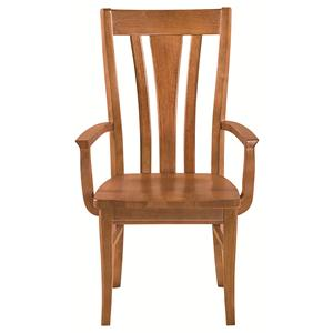 Bassett Custom Dining Arm Chair