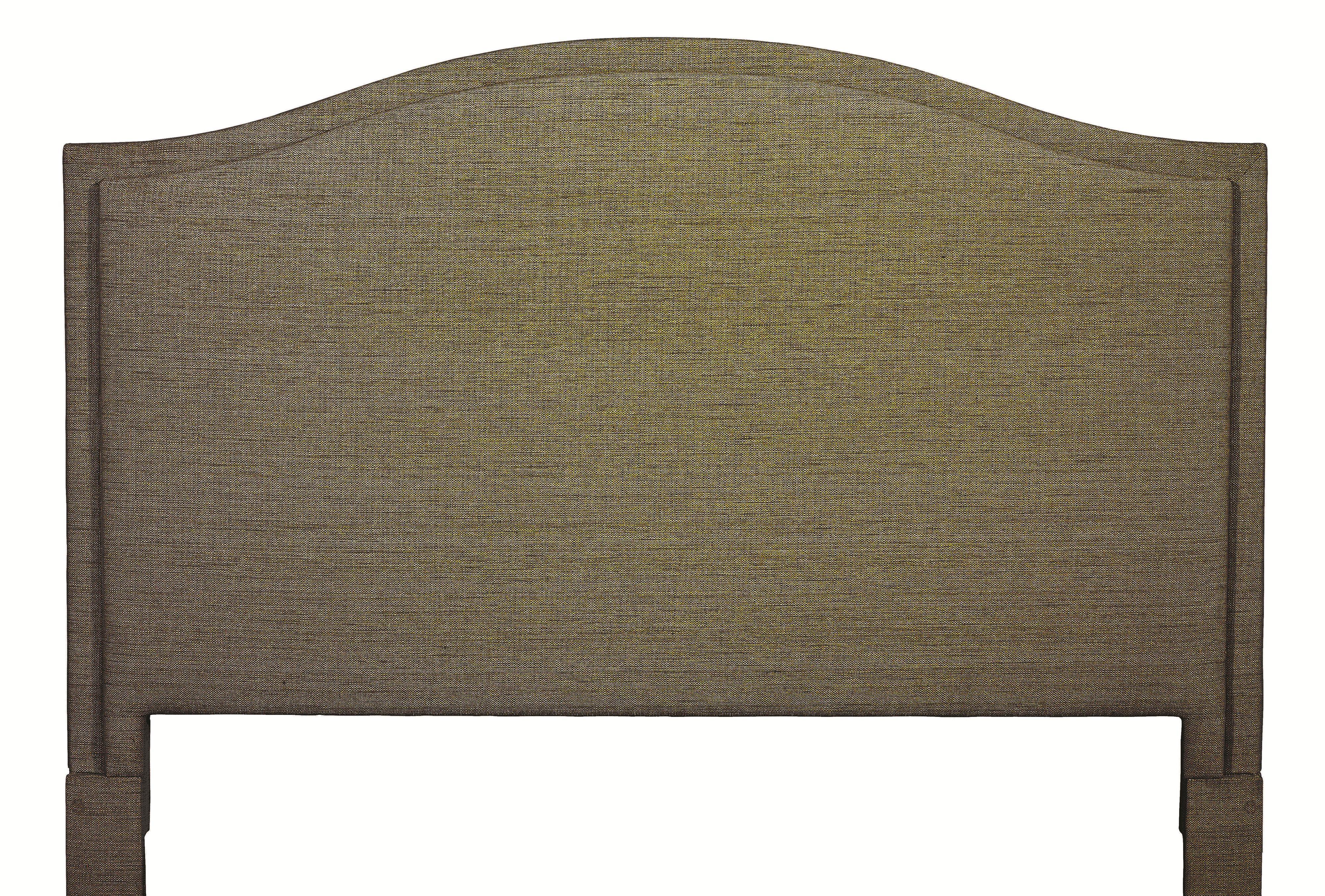 Bassett custom upholstered beds king vienna upholstered headboard dunk bright furniture - Custom headboard ...