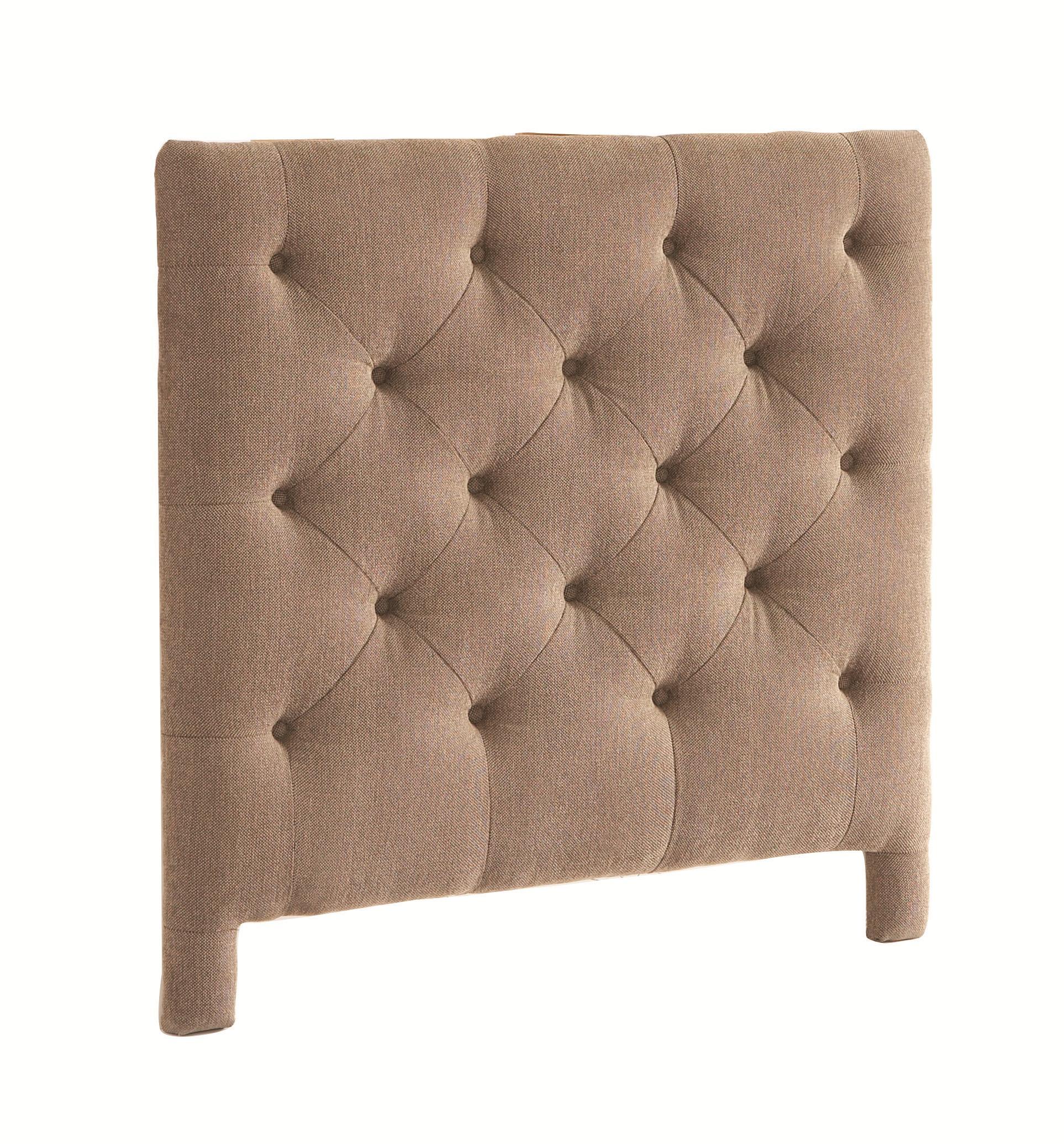 Bassett custom upholstered beds king manhattan upholstered headboard great american home store - Custom headboard ...