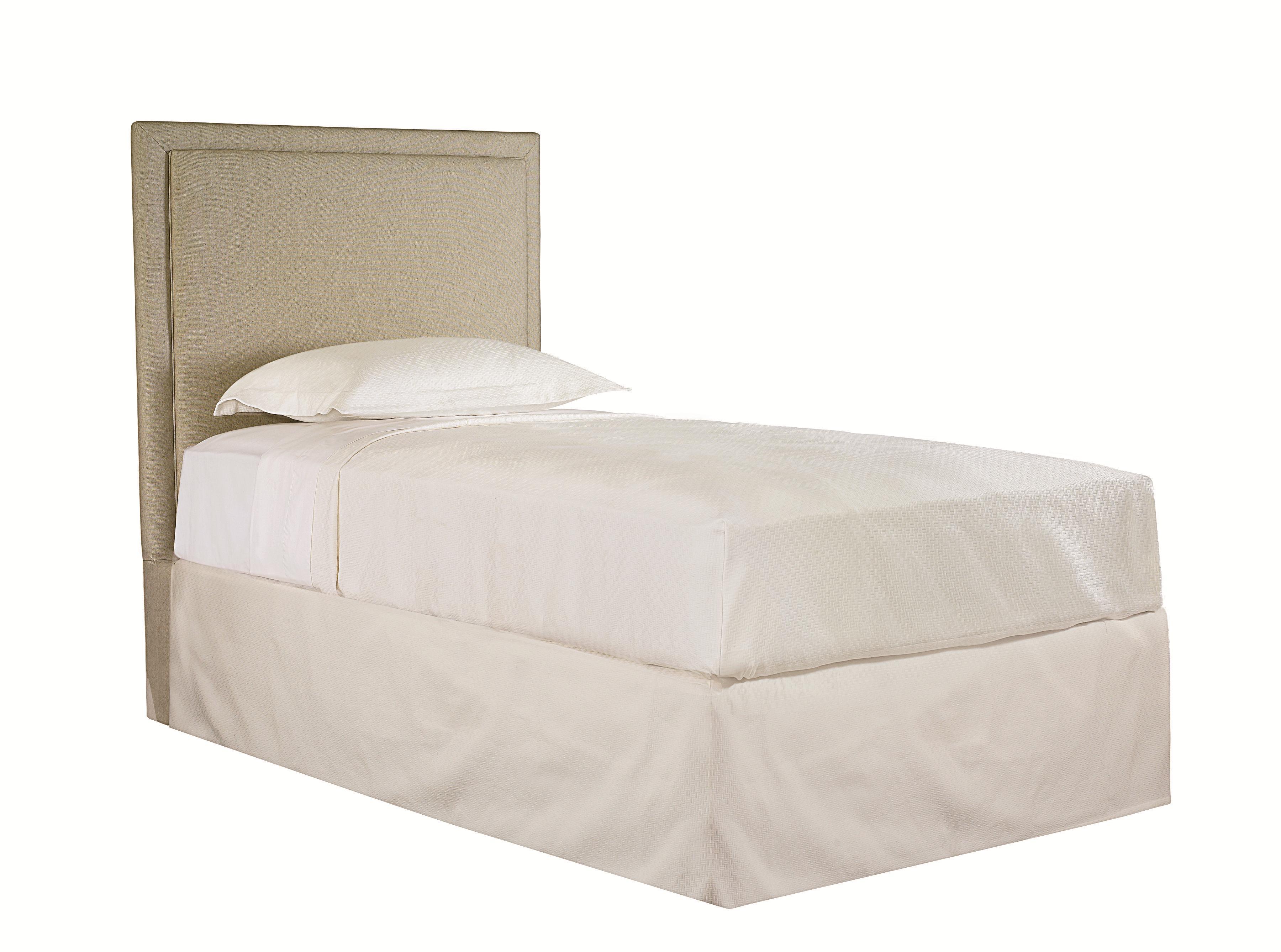 Bassett custom upholstered beds california king manhattan upholstered headboard john v schultz - Custom headboard ...
