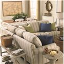 Bassett Custom Upholstery - Loft <b>Custom</b> 3 pc. Sectional - Item Number: 8000-43T+30F+41T