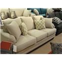 Bassett Custom Upholstery - Loft <b>Custom</b> Sofa - Item Number: 8000-72T