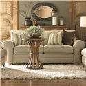 Bassett Custom Upholstery - Manor <b>Custom</b> Loveseat - Item Number: 5000-42F