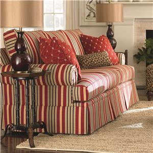Bassett Custom Upholstery - Manor <b>Custom</b> Queen Sleeper