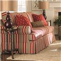 Bassett Custom Upholstery - Manor <b>Custom</b> Queen Sleeper - Item Number: 5000-7QT