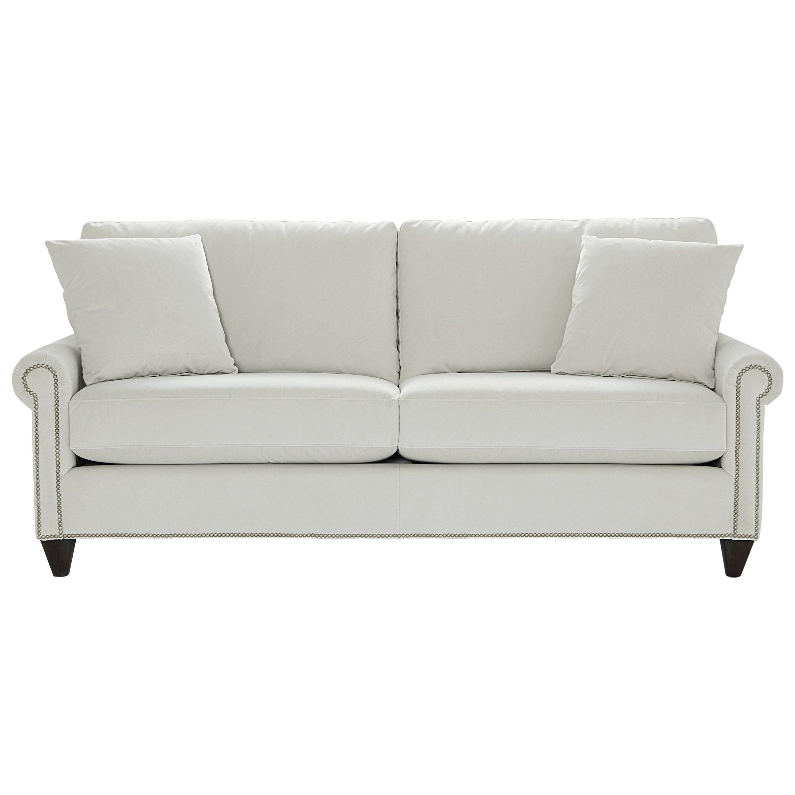 Custom Upholstery Customizable Classic Sofa by Bassett at Suburban Furniture
