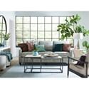 Bassett Custom Upholstery Customizable Great Room Sofa - Item Number: C000-82SF-C5TRACK-1LBOX-3TAPD