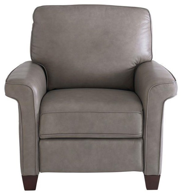 Dixon Glider Recliner With Power Headrest by Bassett at Johnny Janosik