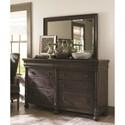 Bassett Emporium Dresser Mirror