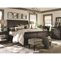 Bassett Emporium Queen Sleigh Bed - Bed Shown May Not Represent Size Indicated