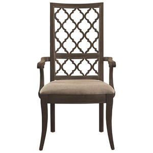 Bassett Emporium Open Fret Arm Chair