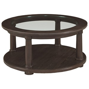 Bassett Emporium Round Cocktail Table