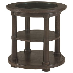 Bassett Emporium Round Lamp Table