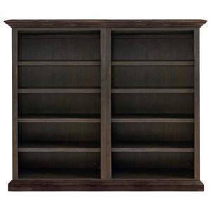 Bassett Emporium Bookcase with Open Storage