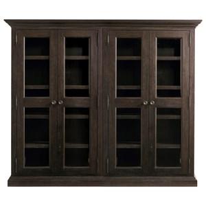 Bassett Emporium Bookcase with Doors